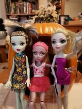 Monster High Dolls Lot of 3 Frankie, Laguna and Marisol Please read Ooak