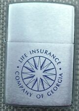 VINTAGE 1977 ZIPPO ADVERTISING LIGHTER LIFE INSURANCE COMPANY OF GEORGIA