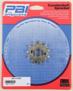 PBI 321-11 Front Countershaft Sprocket 11T CRF100F 2013-2017 CRF80F 2004-2013