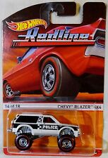 "2016 Hot Wheels Heritage ""Redline"" Chevy Blazer 4X4, Ships World Wide"