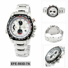 Casio Analog business Edifice Silver Mens EFE-503D-7A