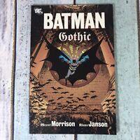 DC Comics - BATMAN - GOTHIC - Paperback 2008 Grant Morrison