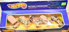 HOT WHEELS 5 CAR GIFT PAK 1987 ACTION COMMAND ARMY TANK JEEP