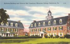 Postcard Archives Building Colonial Hall Dormitory Moravian College Bethlehem PA