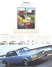 Volvo 343 244 245 264 265 262 C 1978-79 Original UK Sales Brochure ASP/PV 6774