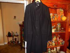 HUGO BOSS  Men's  SINTRAX  Classic Mid Length Trench Jacket Overcoat  Black 46L