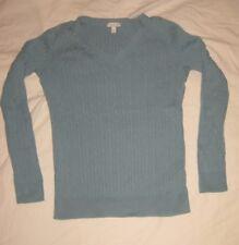 TALBOTS Petites Women's v neck sweater size SP color Teal