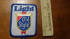 LIGHT BEER OLD STYLE LIGHT BEER PATCH   BX 12  #24
