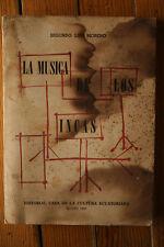 La Musica De Los Incas 1957 Segundo Luis Moreno Spanish Songbook