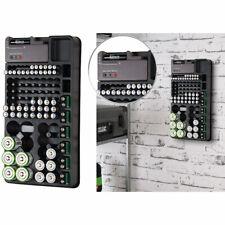tka 2in1-Batterie-Organizer für 98 Batterien, mit Batterie-Tester