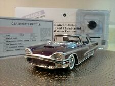 Danbury Mint 1958 Thunderbird.Rare Le Watson Custom.1:24.Nib.Title.Und isplayed