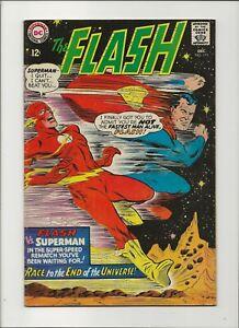 The Flash 175 Fine 6.0 Key 2nd Superman Flash Race Justice League App JLA 1967