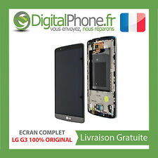 ECRAN ORIGINAL COMPLET LG G3 D855 TITANIUM NOIR