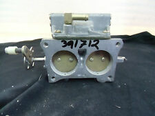 OMC 391712 Carburator Lower for Johnson & Evinrude engines, 1981 90-115-140HP