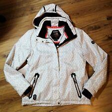 Northland Professional Ski Jacke Weiß Kunstpelz Super
