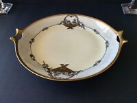 Antique Hutschenreuther Two Handled Cake Plate