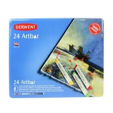 Derwent Artbar Tin of 24 Water-soluble Wax Bars