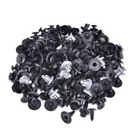 100Pcs Plastic Mixed Screw Rivet Clip Fastener Set For Car Trunk Bumper FenderXB
