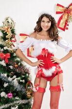 Completi intimi misti da donna corsetto rosso