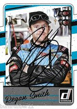 """SIGNED 2017 REGAN SMITH 71 """"NIKKO"""" #7 DONRUSS PANINI NASCAR SPRINT CUP CARD"""