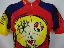 Voler Cycling Jersey - Riding Racing Caree Yellow Red Blue Black Unisex S/M