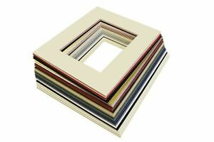 """16x20"""" Picture/ Photo Bevel Edge Mount with A3 Aperture - Lots of Colours"""