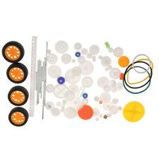 78x Assorted Racks Drive Wheels Plastic Gears Model Making