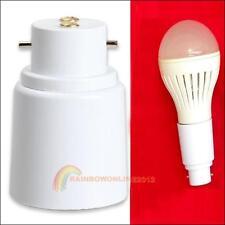 E27 to B22 Socket Base LED Halogen CFL Light Bulb Lamp Adapter Converter Holder