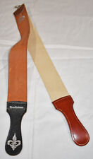 pre-owned Brookstone Leather & Canvas Sharpening Strops