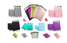Any Color Poly Bubble Mailers Shipping Mailing Padded Envelopes 5 10 15 20 25