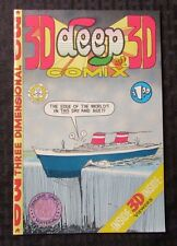 1970 DEEP 3D COMIX #1 FVF w/ Original Glasses Don Glassford 2nd Printing