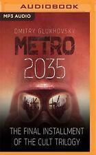 Metro 2035 by Dmitry Glukhovsky (2017, MP3 CD, Unabridged)