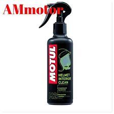 Igenizzante Casco Pulitore Disinfettante Motul Mc Care M2 Helmet Interior Clean