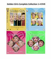 Golden Girls Complete Series Collection 1-4 DVD Season 1 2 3 4 UK Rel R2 NEW