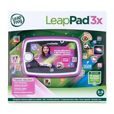 LEAPFROG LeapPad 3X Explorer Tablet Learning Purple - French Edition - NEW™