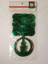 NOS Vintage Kurt Adler Japan Christmas 9 foot  Foil Lace Candle Garland
