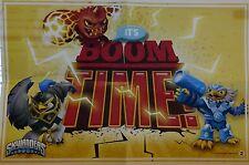 """Skylander Imaginators Mini Poster #2 """"It's Boom Time!"""" 11.25"""" L x 7.25"""" W"""