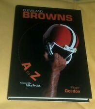Cleveland Browns A to Z by Roger Gordon (2002) Signed