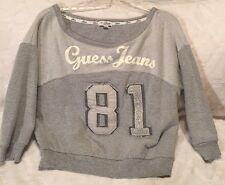 GUESS Jeans Cammy Women's Sweatshirt NWOT, Large