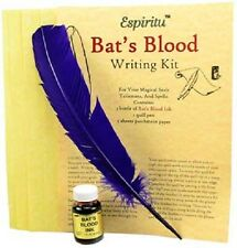 Bats Blood Writing Ritual Spell Kit Pagan Witchcraft Altar Supply