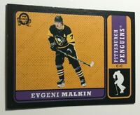 Evgeni Malkin /100 made OPC Retro Black Insert Parallel Hockey Card 110, 2018-19