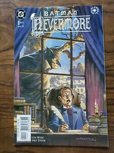 Batman Nevermore #1 Edgar Allan Poe Elseworlds Tale Len Wein Bernie Wrightson