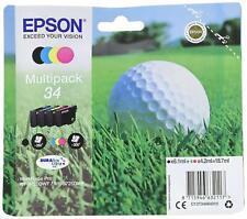 Epson Multipack 4-farbig 34 Golfball DURABrite Ultra Ink/