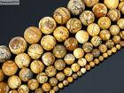 Natural Picture Jasper Gemstone Round Beads 16'' 2mm 4mm 6mm 8mm 10mm 12mm 14mm