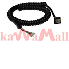 Mic Cable For YAESU Radios MH-48A6J FT-1807 FT-1802 FT-2600 MH-42B6J