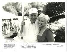 Bette Midler Dir Carl Reiner in That Old Feeling 1997 original movie photo 17939