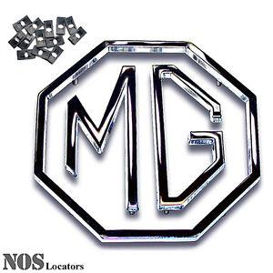 MGA, MGB, MGC, MG1100, Midget, ZA/ZB NEW 3-pc Metal Trunk Emblem Set