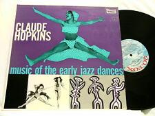 CLAUDE HOPKINS Music of Early Jazz Dances Vic Dickenson Henry Red Allen dg LP