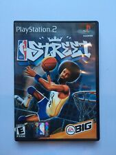 NBA Street PS2 Playstation Complete & Tested Black Label