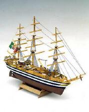 """Authentic, Mini Wooden Model Ship Kit by Mamoli: the """"Amerigo Vespucci"""""""